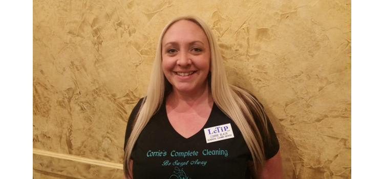 Corrie Black, Corrie's Complete Cleaning, Janitorial Services Residential