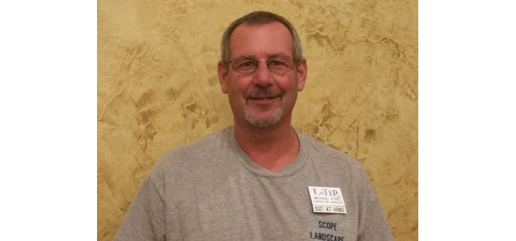 Mike Ford, Scope Landscaping, Contractor Landscape, LeTip Sgt-At-Arms
